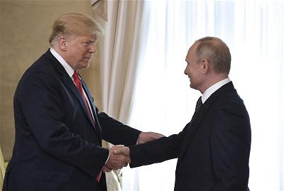 Trump-Putin-Photo via  AP