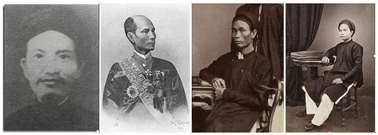 Tứ Đại -Cong Than- Cua Thuc Dan Phap